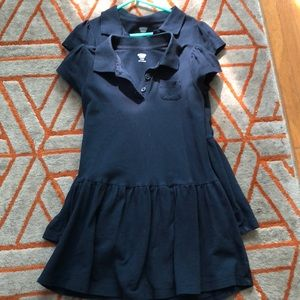 2 old navy uniform shirt dresses
